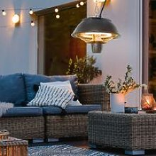 Patio Ceiling Heater Hanging Switch Halogen