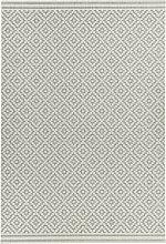 PATIO - Diamond Area Rug - Grey - 80x150 cm - Grey