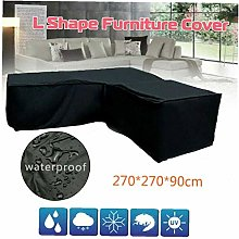 Patio Furniture Cover L-Shaped Sectional Sofa