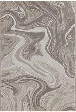 Patio Indoor/Outdoor Marble Design Rug 200x290cm