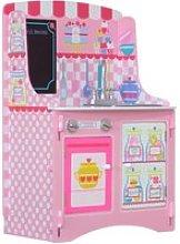 Patisserie Pink Wooden Children's Kitchen Unit