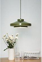 Patricia Lobo - Olive Green Ruffo Ceramic Pendant