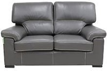 Patrick Contemporary 2 Seater Sofa Grey Italian