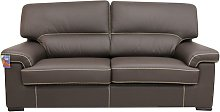 Patrick Contemporary 3 Seater Sofa Chocolate Brown