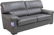 Patrick Contemporary 3 Seater Sofa Grey Italian