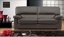 Patrick Contemporary Leather Sofa Suite