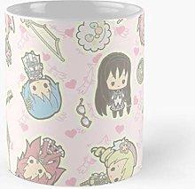 Pattern Madoka Pastel Cute Magica Kawaii Anime
