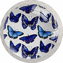 Pattern with Butterfly Markers Set of 4 Drawer