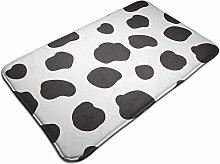 Pattern With Spotted Cow Bath Mat Door Mats Rug