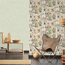 #Patterned.Wallpapers PVC-Free Modern Living Room