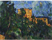 Paul Cezanne Chateau Noir Extra Large Wall Art