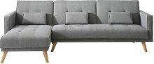 Paula Reversible Sleeper Corner Sofa Isabelline