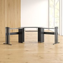 Pauletta L-Shape Computer Desk Mercury Row