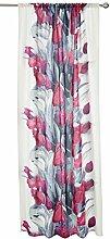 Pauliina Curtain 140x240 cm plum