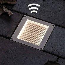 Paulmann LED-Solar recessed light Aron 10x10cm