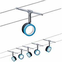 Paulmann Wire System, Integriert, 4 W, Black,