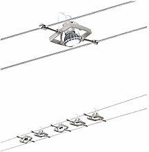 Paulmann Wire System, Metal, GU5.3, 0.001 W, Satin
