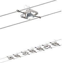 Paulmann Wire System, Metal, GU5.3, 10 W, Nickel