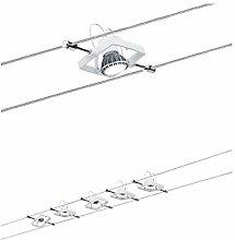 Paulmann Wire System, Metal, GU5.3, White