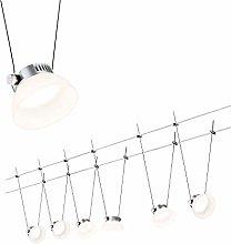 Paulmann Wire System, Metal, Integriert, 4 W,