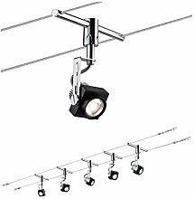 Paulmann Wire System, Metal, Integriert, 5 W,