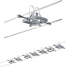 Paulmann Wire System, Metal, Plastic, GU5.3, 10 W,