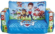 Paw Patrol 2 in 1 Inflatable Flip Out Mini Sofa