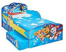 Paw Patrol Toddler Bed with Storage Drawers by
