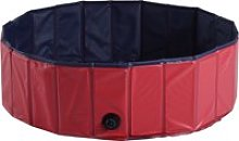 Pawhut Φ100x30H cm Pet Swimming Pool-Red