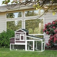 PawHut 200cm Deluxe Chicken Coop Small Animal