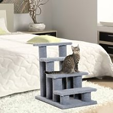 PawHut Pet Stairs 4 Steps for Sofa Tall Bed Dog