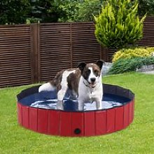 PawHut Pet Swimming Pool, Foldable, 120 cm