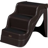 Pawhut Portable Pet 3 Steps Ramp Ladder-Brown