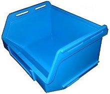 PB15 Plastic Storage Box/Parts Bin - Blue Pack of