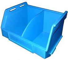 PB16 Plastic Storage Box/Parts Bin - Blue Pack of