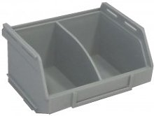 PB16 Plastic Storage Box/Parts Bin - Grey Pack of
