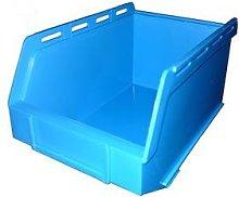 PB17 Plastic Storage Box/Parts Bin - Blue - Pack