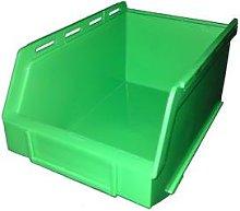 PB17 Plastic Storage Box/Parts Bin - Green Pack of