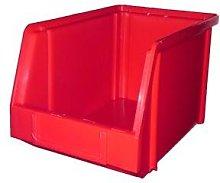 PB18 Plastic Storage Box/Parts Bin - Red