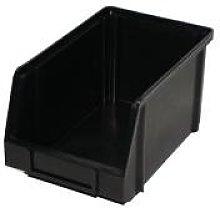 PB18R Recycled Black Plastic Storage Box/Parts Bin