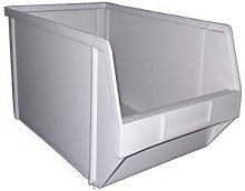 PB19 Plastic Storage Box/Parts Bin - Grey