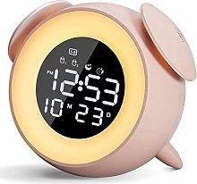 PBTRM Alarm Clock Wake Up Light with