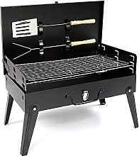 PBUK Black Iron Charcoal BBQ Grill with
