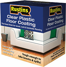 PCFS1000 Clear Plastic Floor Coating Kit Satin 1