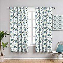 Pcglvie kitchen wall Extra long curtain, Curtains