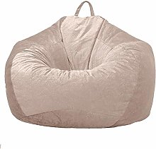 PDDXBB Bean bag chair non-filling dustproof soft