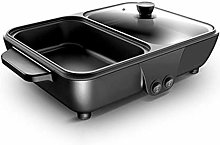PDVCB Indoor Electric BBQ Grill Non-Stick Electric