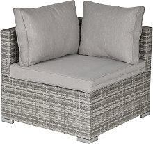 PE Rattan Wicker Corner Sofa Chair Garden