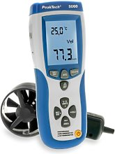 PeakTech P 5060 Impeller Anemometer and IR