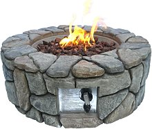 Peaktop HF09501AA UK Gas Fire Pit With Cover